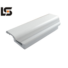 Carcasa de aleación de aluminio con revestimiento a presión, estructura compacta y aspecto estético