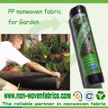 Paño grueso y suave no tejido hilado del jardín de los PP spunbonded para las cubiertas de la planta