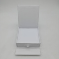 Custom High Gloss White Cardboard Box dengan Drawer