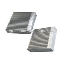 Échangeur de chaleur en alliage de plaque d'aluminium du compresseur à vis / refroidisseur d'huile hydraulique de l'industrie