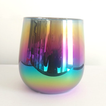 Rainbow Colour Stemless Champagneglazen
