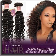 Deep Curly Human Hair Extensions Cheap Indian Hair (INDW001)
