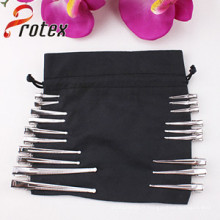 Différentes tailles de cheveux en fer transparent pour le bricolage, accessoires pour cheveux