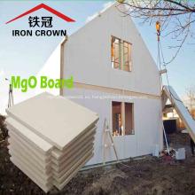 Tablero ignífugo de alta densidad de óxido de magnesio y fibra de vidrio