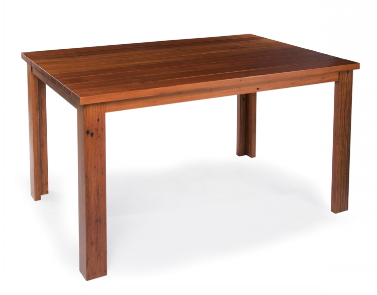 Solid Wood Rustic Dinner Room Restaurant Square Tables