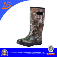 Fashion Knee High Colorful Camo Rubber Boots (NE-06)