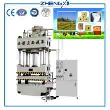 Animal Salt Block Briquette Hydraulic Press Machine 800T