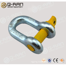 U.S.Type Drop Forged Galvanized Screw Shackle