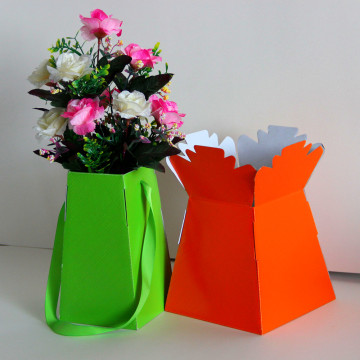 Shik Gifts Gold Gold Living Vase Flower Box