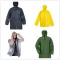 factory sale waterproof pvc rain jacket rain coat