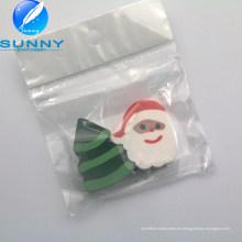 Padre Christmas Shape Eraser, borrador en forma de dibujos animados para regalo de promoción