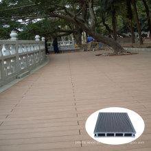 Varanda composto plástico de madeira do Decking (KN04)