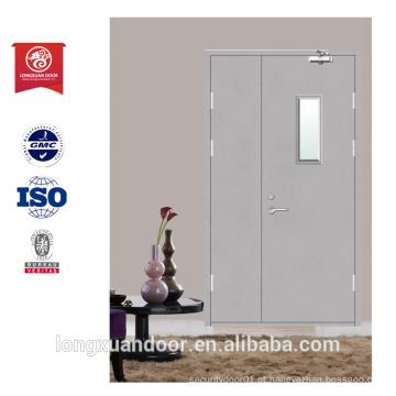 Porta de porta com controle de fogo de porta de vidro porta de porta de preço porta exterior porta de mãe e filho