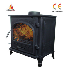 Modern Cast Iron Multifuel Stove