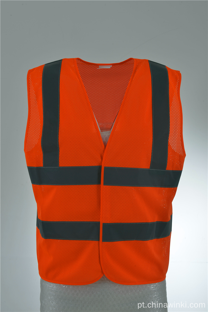Red Work Wear Olá Viz Executive Safety Waist Vest