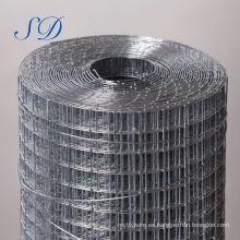 3 pliegues de malla de alambre soldado con autógena del refuerzo 10x10 con el mejor precio