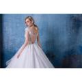 Alibaba vestido de noiva vestido de noiva mais recente projeto HA608