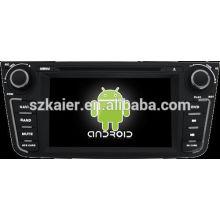 Система DVD-плеер автомобиля андроида для Geely ЕХ7 с GPS,Блютуз,3G и iPod,игры,двойной зоны,управления рулевого колеса