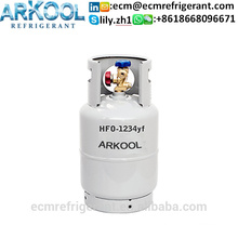 new refrigerant gas HFO-1234yf used for automobile air conditioning replace r134a