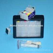 Sistema de tinta continua para epson T2711 mano de obra wf7620 wf7110 wf7610 wf3620 wf382 wf3640 3640 7110 cartucho de tinta para impresora ciss