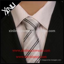 Cravate tissée par coutume de polyester jacquard