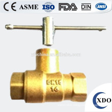 Factory Price Brass ball valve, Brass ball valve with new bonnet steel handle, Ball Valve Price