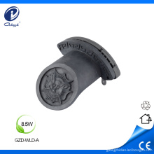 Techo chinoiserie impermeable corrugado led iluminacion