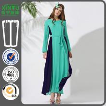 2016 Schöne Chiffon- Art und Weise neueste Sequin Abaya Kaftan