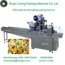 Gzb-350A High Speed Pillow-Type Automatic Egg Cake Flow Wrapping Machine