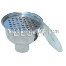 Dreno sanitário em aço inoxidável