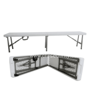 Folding table for outdoor activities