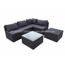Wicker Outdoor / Garden Furniture - Lounge Set