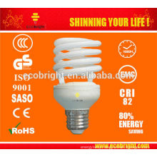 skd T2 25w Half spiral saving lamp 10000H CE QUALITY
