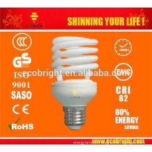 em meia espiral 25w SKD T2 salvando lâmpada 10000H CE qualidade