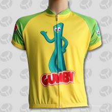 Желтый моды Subliamtion Велоспорт одежда