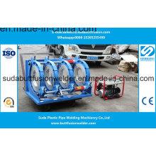 Soldador da extremidade da tubulação do HDPE 280mm / 500mm / máquina plástica articulando