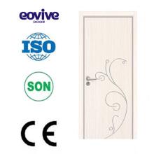 neue und Mode-Design Interieur aus Holz Melamin Tür Modelle Des Portes de Bois