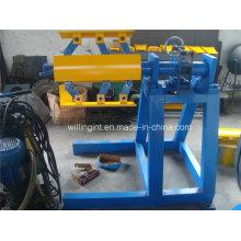 Nuevas 3 toneladas de máquina manual de la forja del metal de Decoiler de la tensión
