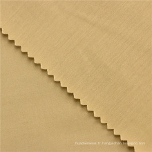 146CM 60x40 + 40D / 245x98 160GSM beige spandex pantalons pour hommes tissu sateen coton mélangé tissu