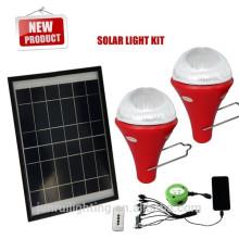 kit solar inteligente para iluminación del hogar, para camping, para los coches
