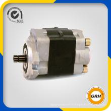 Pompe à engrenage hydraulique à haute pression pour chargeuse sur pneus, Excavatrice, grue