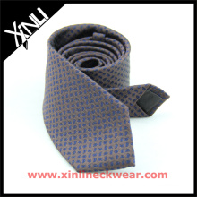 Mixed Yarn Spun Silk Wool Tie for Men Wool Paisley Necktie
