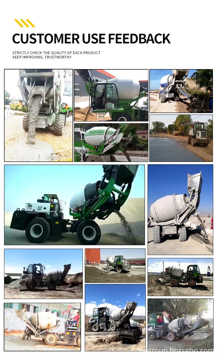 concrete mixer truck07