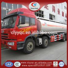 China Kraftstoff-Sattelanhänger LKW-Massen-Zement-Transporter billig