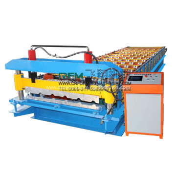 Steel Tile Metal Profile Tile Making Machine
