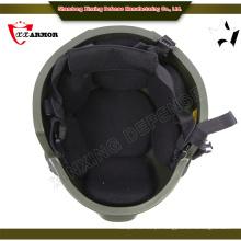 Armação de calcanhar de 4 pontos, capacete de fibra de aramida à prova de balas
