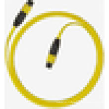 MPO одномодовый симплексный волоконно-оптический патч-корд, MPO ftth g657a lszh волоконно-оптический кабель