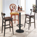 Wooden Furniture Used Bistro Tables and Bar Stools (SP-CT707)