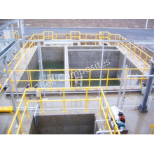 FRP Handrails, GRP/Glassfiber Hand Railing Systems, Fiberglass Pipe Fittings, Connectors.
