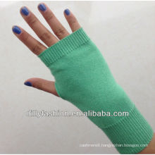 knitted women's cashmere gloves/short fingerless gloves